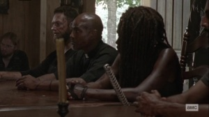Ghosts- Town hall meeting at Alexandria- AMC, The Walking Dead