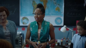 It's Summer and We're Running Out of Ice- Angela Abar, played by Regina King, talks about making moon cakes- HBO, Watchmen