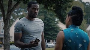 It's Summer and We're Running Out of Ice- Cal, played by Yahya Abdul-Mateen II, gives Angela her pager- HBO, Watchmen