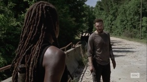Lines We Cross- Aaron doesn't like the new normal- AMC, The Walking Dead