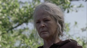 Lines We Cross- Carol spots Alpha- AMC, The Walking Dead