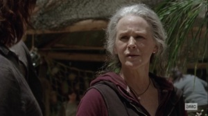 Lines We Cross- Carol tells Daryl about her time at sea- AMC, The Walking Dead