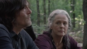 Lines We Cross- Carol tells Daryl that she's a sea dog at heart- AMC, The Walking Dead