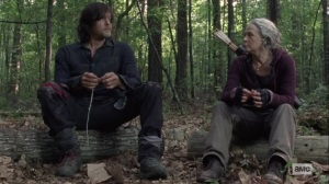Lines We Cross- Daryl and Carol talk about what's out there for them- AMC, The Walking Dead