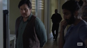 Lines We Cross- Eugene presents his baby data to Siddiq- AMC, The Walking Dead