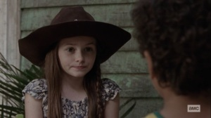 Lines We Cross- Judith tells RJ a story about Rick- AMC, The Walking Dead