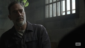 Lines We Cross- Negan suggests that Gabriel make the people feel secure- AMC, The Walking Dead