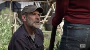Lines We Cross- Negan talks to Lydia about communities being on alert- AMC, The Walking Dead