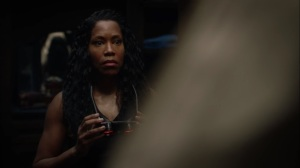Marital Feats of Comanche Horsemanship- Angela discovers a Klansman's robe at Judd's home- HBO, Watchmen