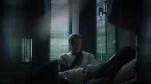 Marital Feats of Comanche Horsemanship- Judd tells Angela that her partner was killed- HBO, Watchmen