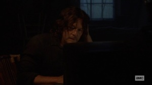 Silence the Whisperers- Daryl tells Michonne that Negan is on the right side of things this time- AMC, The Walking Dead