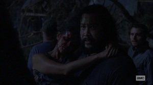 Silence the Whisperers- Jerry asks Ezekiel on how to proceed- AMC, The Walking Dead