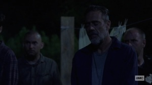 Silence the Whisperers- Negan after helping Lydia- AMC, The Walking Dead