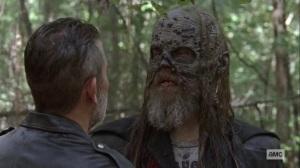 Bonds- Beta unimpressed with Negan- AMC, The Walking Dead
