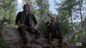 Bonds- Carol and Daryl watch the walker swarm get bigger- AMC, The Walking Dead