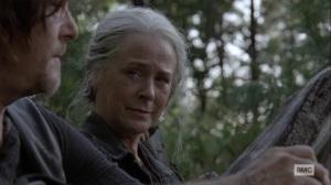 Bonds- Carol asks Daryl about Connie- AMC, The Walking Dead