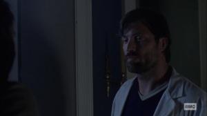 Bonds- Dante talks with Siddiq- AMC, The Walking Dead