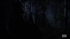 Bonds- Daryl listens for the Whisperers- AMC, The Walking Dead