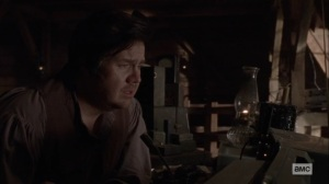 Bonds- Eugene and the mystery woman agree to keep talking- AMC, The Walking Dead