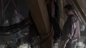 Bonds- Nabila and Eugene go over the radio- AMC, The Walking Dead
