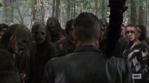 Bonds- Negan survives- AMC, The Walking Dead