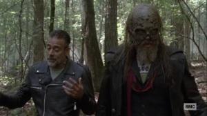 Bonds- Negan talks with Beta- AMC, The Walking Dead