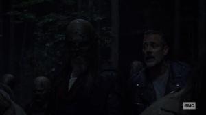 Bonds- Negan tells Beta that he isn't going anywhere- AMC, The Walking Dead