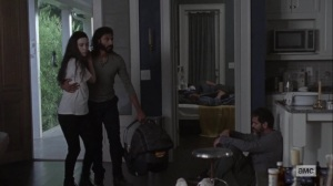 Bonds- Rosita and Siddiq arrive at the infirmary- AMC, The Walking Dead