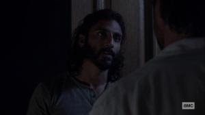 Bonds- Siddiq makes up with Dante- AMC, The Walking Dead