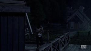 Bonds- Siddiq on a windmill- AMC, The Walking Dead