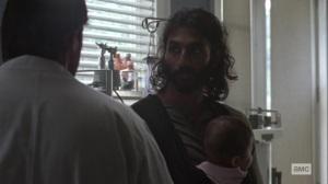 Bonds- Siddiq talks with Dante- AMC, The Walking Dead
