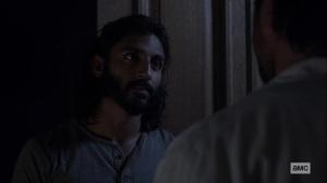 Bonds- Siddiq thanks Dante- AMC, The Walking Dead