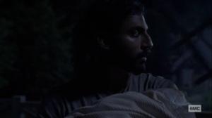 Bonds- Siddiq's nightmare- AMC, The Walking Dead