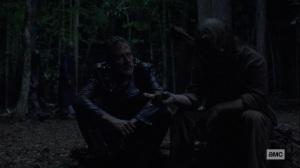 Bonds- Whisperer offers food to Negan- AMC, The Walking Dead