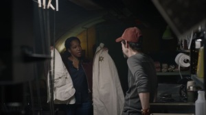 If You Don't Like My Story, Write Your Own- Angela shows Wade the Klansman robe and hood from Judd's closet- HBO, Watchmen