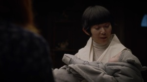 If You Don't Like My Story, Write Your Own- Lady Trieu brings in a baby for the Clarks- HBO, Watchmen