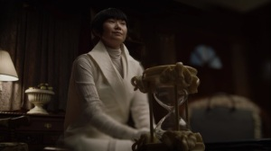 If You Don't Like My Story, Write Your Own- Trieu and her hourglass- HBO, Watchmen