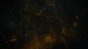 Little Fear of Lightning- Giant alien squid in New York City- HBO, Watchmen