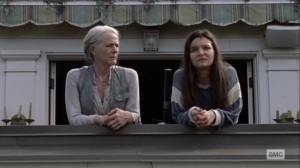 Open Your Eyes- Carol asks Lydia for information on the Whisperer prisoner- AMC, The Walking Dead