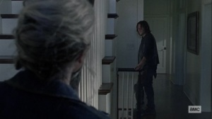 Open Your Eyes- Carol thanks Daryl for having her back- AMC, The Walking Dead