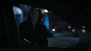 She Was Killed By Space Junk- Car lands in front of Laurie- HBO, Watchmen