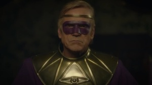 She Was Killed By Space Junk- Ozymandias in his old costume- HBO, Watchmen