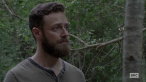 The World Before- Aaron learns Gamma's real name- AMC, The Walking Dead