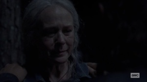 The World Before- Carol cries- AMC, The Walking Dead