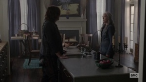 The World Before- Daryl asks Carol about what really happened with Lydia- AMC, The Walking Dead