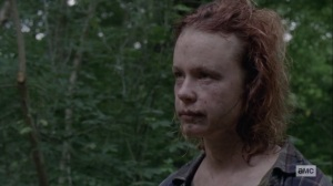 The World Before- Gamma unmasks herself, reveals her name was Mary- AMC, The Walking Dead