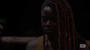 The World Before- Michonne speaks with Virgil- AMC, The Walking Dead