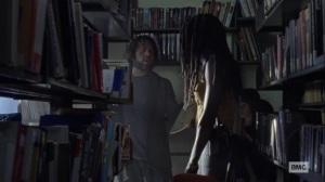 The World Before- Michonne tells Luke that Siddiq is dead- AMC, The Walking Dead