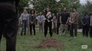 The World Before- Siddiq's funeral- AMC, The Walking Dead