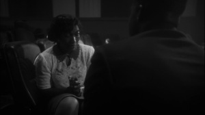 This Extraordinary Being- Crying Negro woman explains to Will what happened at the theater- HBO, Watchmen